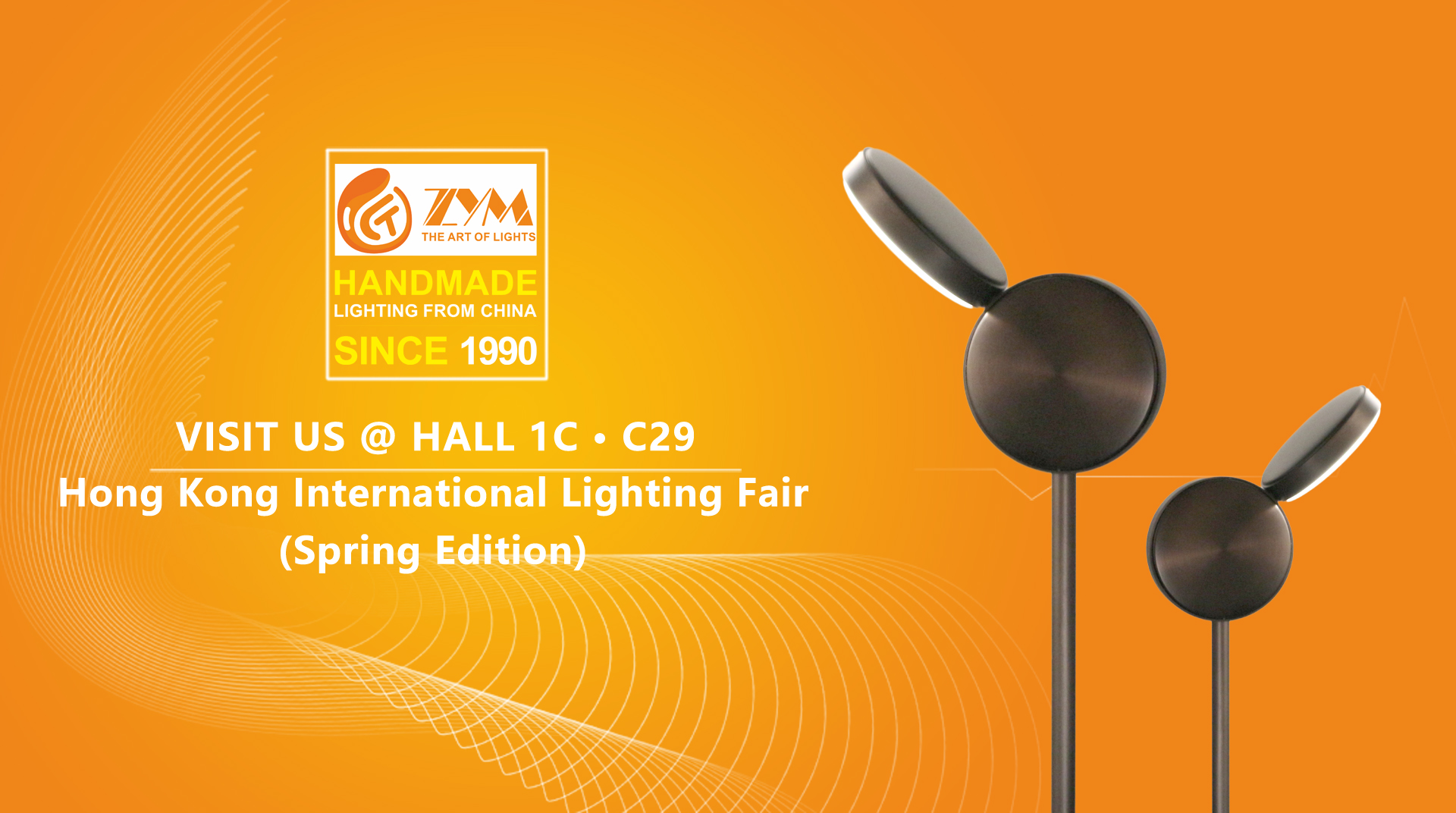 Hong Kong International Lighting Fair | VISIT US @ HALL 1C • C29